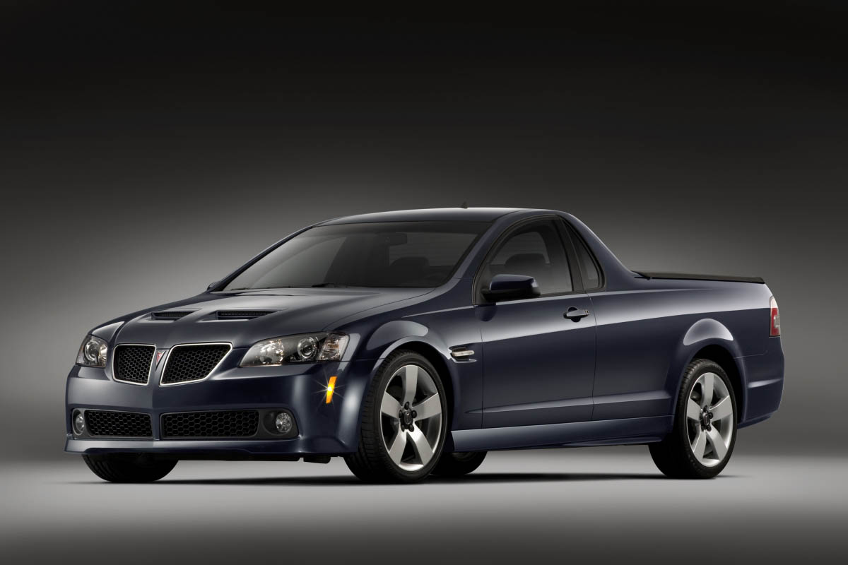 Pontiac g8 sport truck an aussie aboutthatcar said jim bunnell buick pontiac gmc general manager pontiac has never shied away from offering segment defining vehicles going back to the original gto sciox Image collections