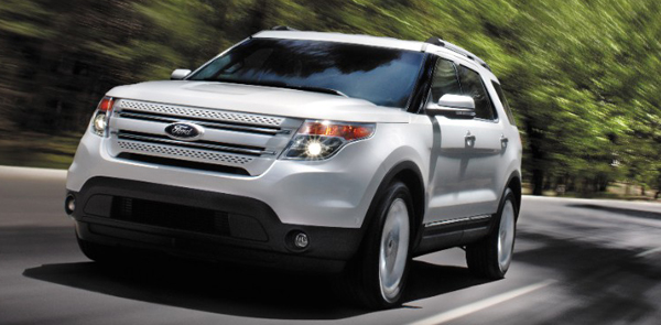 2014 Ford Explorer rotate