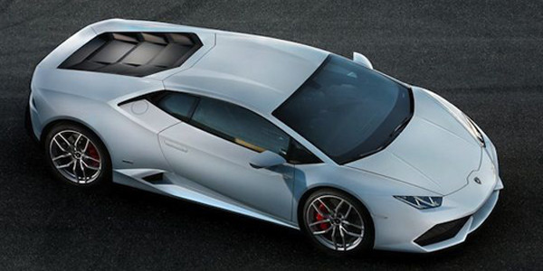 Lamborghini Huracán rotate