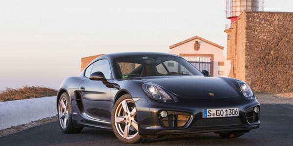 2014 Porsche Cayman profile