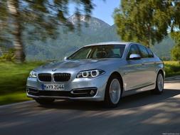 2014 BMW 530d profile