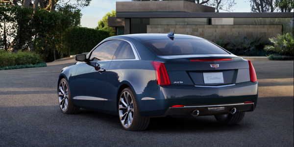 2015 Cadillac ATS Coupe rotate