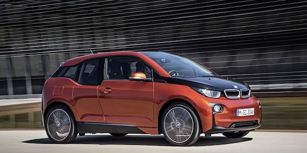 2015 BMW i3 rotate