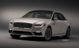 2017 Lincoln Continental rotate