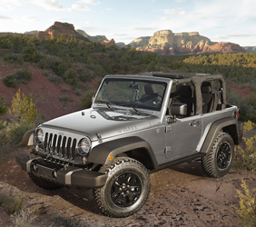 2016 Jeep Wrangler Willys