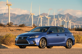 2016 Lexus CT 200h F SPORT profile