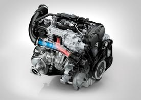 Drive-E 4 cylinder Petrol Engine - T6 Rear