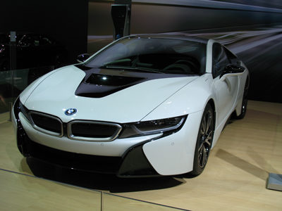 2017 BMW i8 hybrid coupe