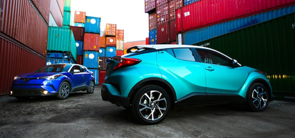 Toyota C-HR is chunky, funky cool